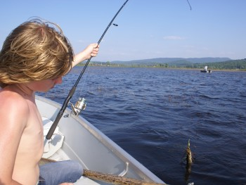 Summertime and the Fishin' Is Easy