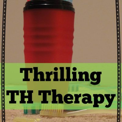 This Thrilling Therapy Theme (Is Th)