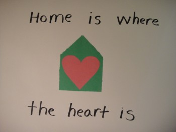 Home is Where the Heart is:  Making Spirits Bright