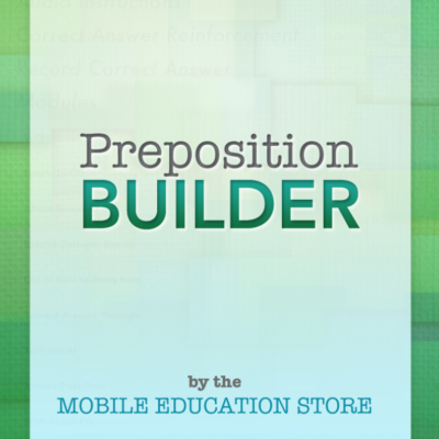 Preposition Builder: A Review and Giveaway