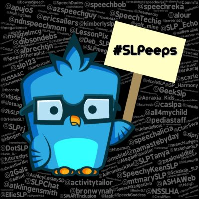 Wouldn't You Like to be a #SLPeep-er too?