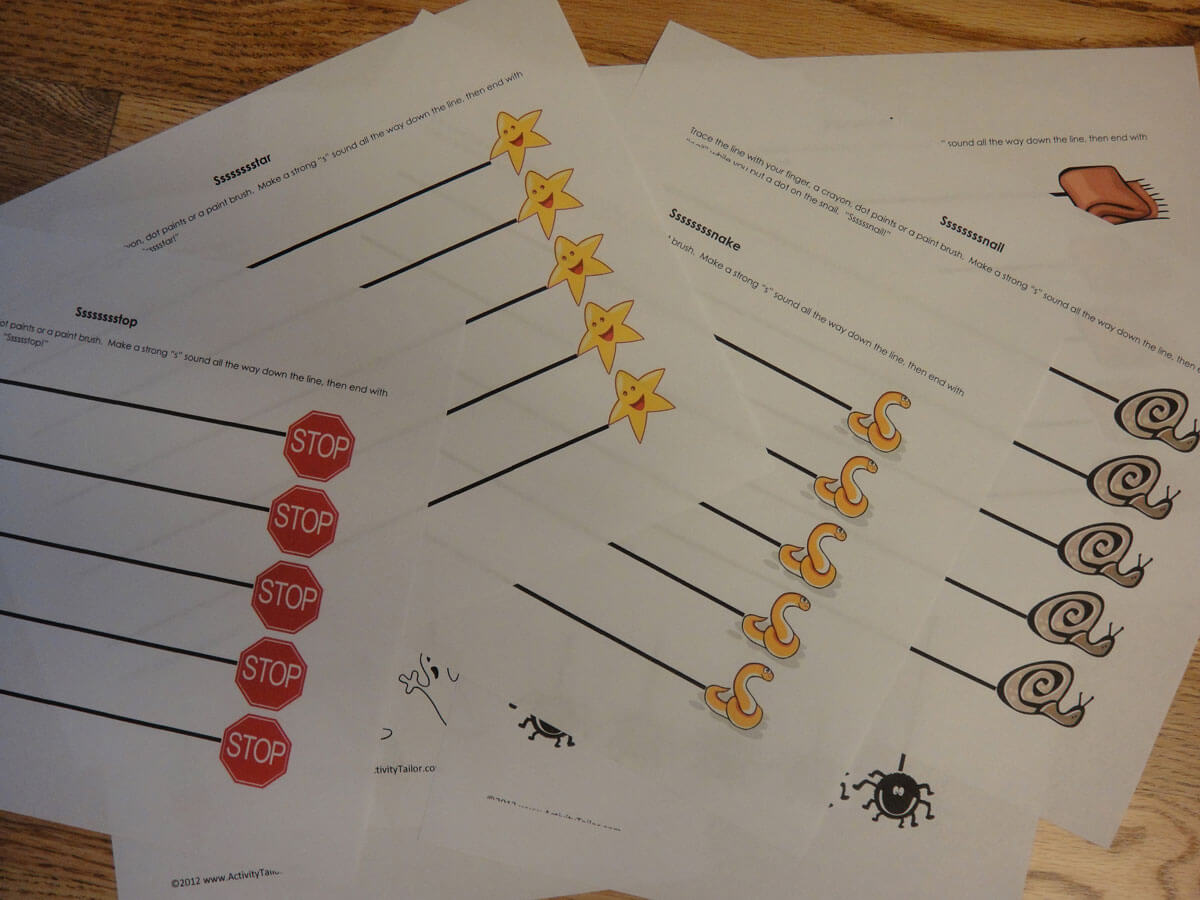 A Cluster Of Worksheets Activity Tailor