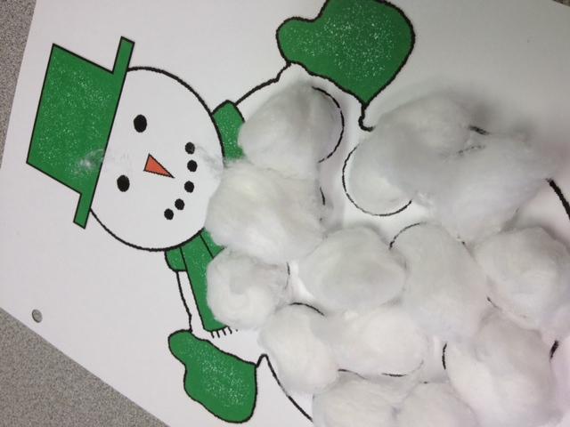 Speech Snowmen Activity Tailor