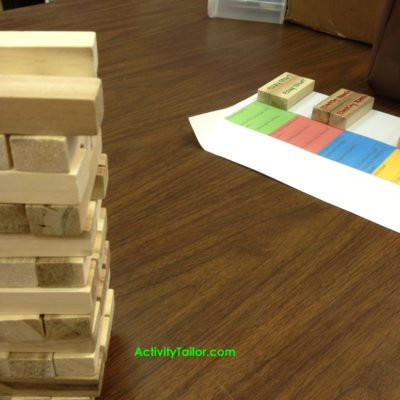 Fluency Tower Game mats