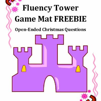 Christmas Questions Game Mat FREEBIE