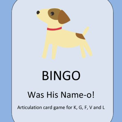 Bingo Was His Name-o!