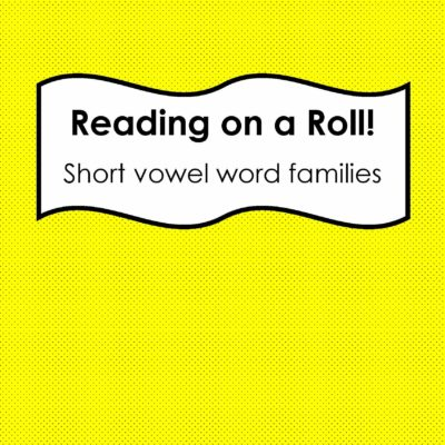 Reading on a Roll and Short e FREEBIE!