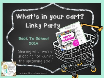 What's in Your Cart?  TPT Back-to-School Sale is Here!