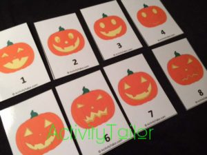 Halloween attributes jack o lanterns copy