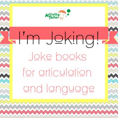 I'm Joking! Articulation and Language Joke Books