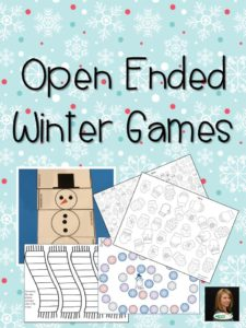 Open Ended Winter Games cover