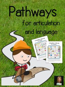 Pathways for articulation and language: Fun games to address a variety of articulation and language goals