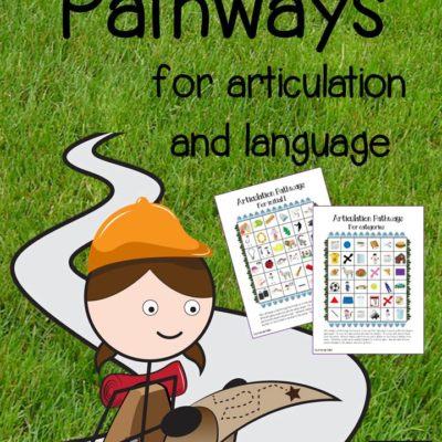 Pathways for Articultion and Language plus a FREEBIE!