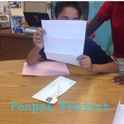 Pen Pal Project:  The recap