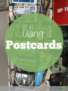 Using postcards