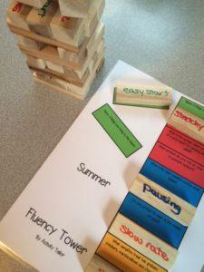 Summer fluency game mat