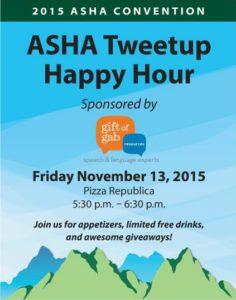 ASHA Tweetup
