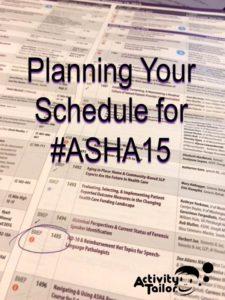 ASHA schedule