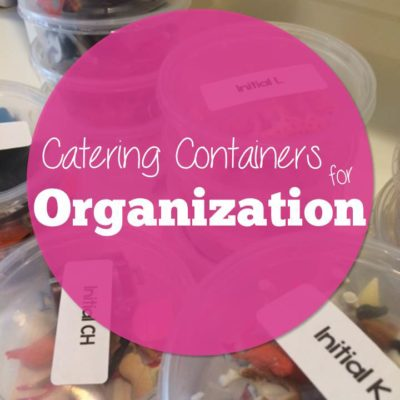 Catering Containers for Organization