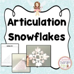 Articulation Snowflakes