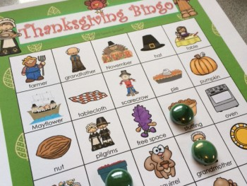 Thanksgiving Bingo Riddles and a Giveaway!