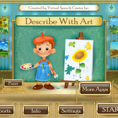 Describe with Art!  App Review and Giveaway!