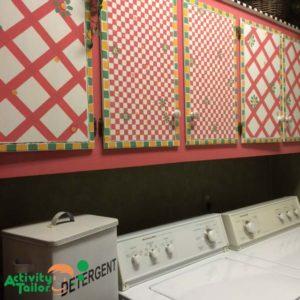 Painters tape laundry room copy