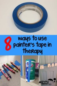 painters tape pin