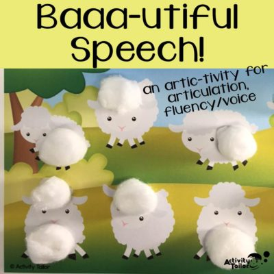 Baaa-utiful Speech!