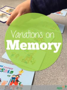 Variations on Memory