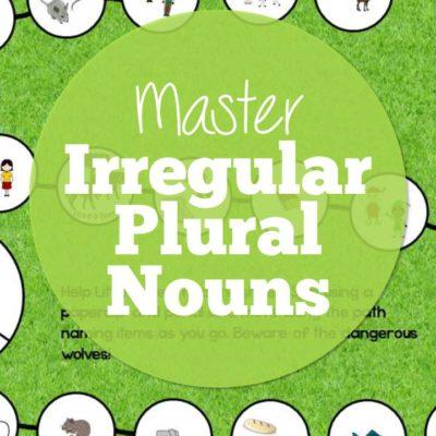 Targeting Irregular Plural Nouns in Speech