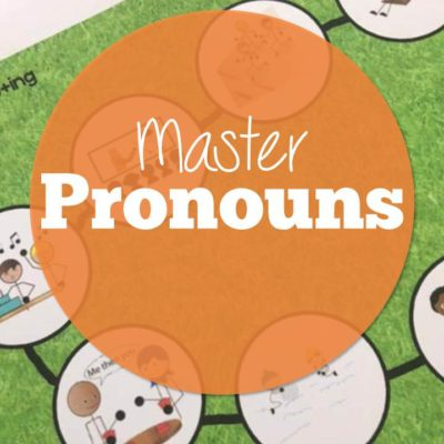 Teaching Pronouns in Speech plus a Free Resource!