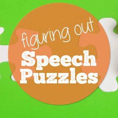 Summer Puzzles: Regrouping on your Toughest Speech Students