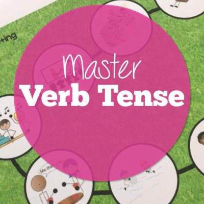 Teaching Verb Tenses in Speech plus a FREE Resource!