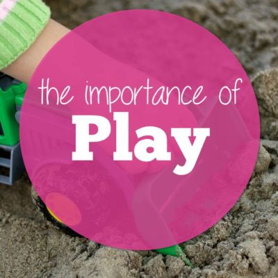 The Importance of Play (for you too)