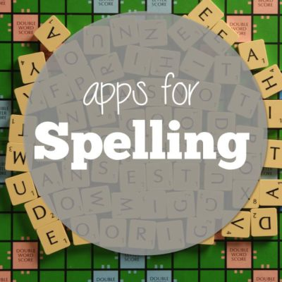Apps for (stick with me) Spelling