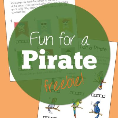 Fun for a Pirate (Freebies)!