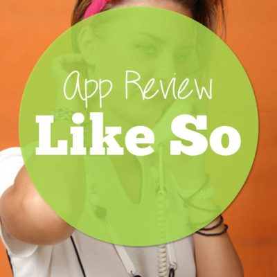 Like So: A Speech App Review