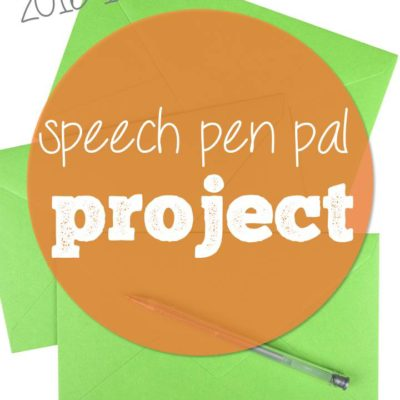 Pen Pal Project Sign-up!
