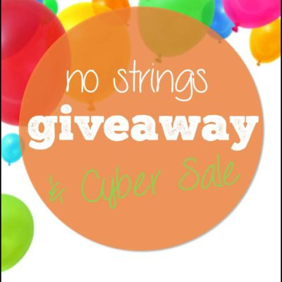 No Strings Attached Giveaway!