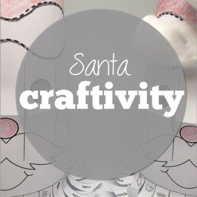 No Prep, No Mess Santa Craftivity