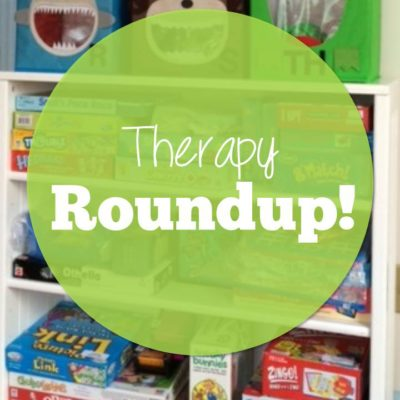 Therapy Roundup–Holiday Tips and Phonemic Awareness