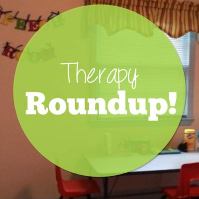 Therapy Roundup–Keys, Smoothies and Mittens