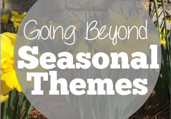Going Beyond Seasonal Themes in Speech Therapy