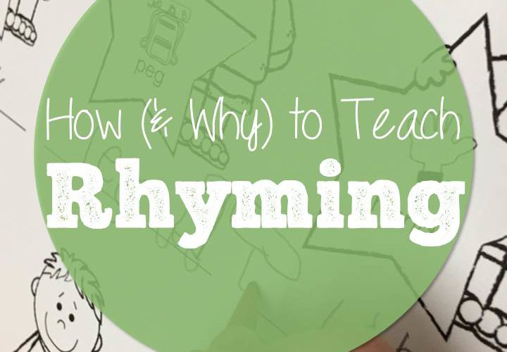 How (and Why) to Teach Rhyming plus a Freebie!