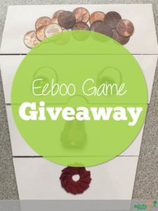 Eeboo games review and giveaway