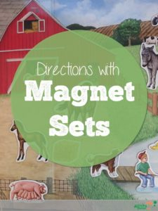 Following Directions and Comprehension with Magnet Sets