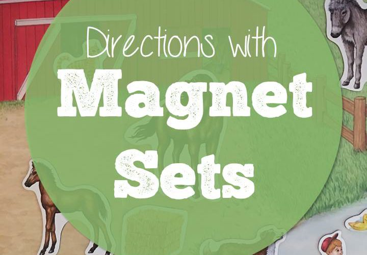Listening Comprehension and Following Directions with Magnet Sets