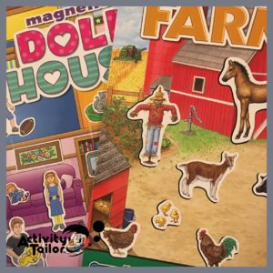 magnet sets farm and house