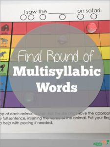 Final Round of MS words